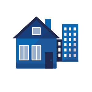 Commercial And Mixed Utilities : Imdaad |Residential Utilities Icon